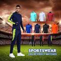 Vêtements de sport pour hommes, veste de Football, survêtement d'entraînement de Football, ensemble