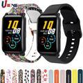 Bracelet Sport en Silicone pour montre Huawei Honor ES, Bracelet de remplacement pour Haylou Ls02 /