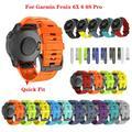 Bracelet de rechange en Silicone pour montre connectée Garmin Fenix 6 6X 6S Pro, 20, 26mm,