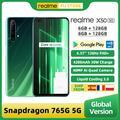 Realme – Smartphone X50 5G, Version globale, 6 go/8 go 128 go, Snapdragon 765G, écran 6.57 pouces,