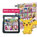 520 in 1 Game Cartridge Multicart,DS Game Pack Card Compilations, Fine Works Combo Multicart for Ninte-ndo DS, NDSL, NDSi, NDSi LL/XL, 3DS, 3DSLL/XL, New 3DS, New 3DS LL/XL, 2DS, New 2DS LL/XL