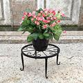 Potted Plant Holder, Durable Metal Plant Holder, 9 Inches Indoor Rustproof Iron Plant Holder, for Garden Containers Outdoor Round Flower Pot Holder, Balcony, Porch, Patio