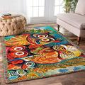Personalized Owls Np0r Rug Area Rugs Carpet Area Rug for Living Room Bedroom Decor Kids Playing Rug Polyester Yoga Floor Diameter New Year Gift 2x3 3x5 4x6 5x8 Area Rug