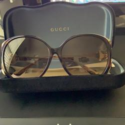 Gucci Accessories | Authentic Gucci Shades | Color: Brown | Size: 64mm