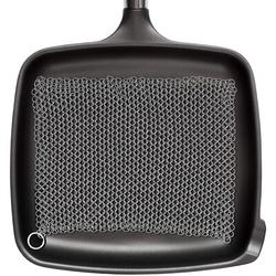 """Amagabeli 10""""X10"""" 316 Stainless Steel Cast Iron Cleaner Chainmail Scrubber For Cast Iron Pan Skillet Cleaner For Dishes Glass Pre-Seasoned Cast Iron Pot Seasoni"""