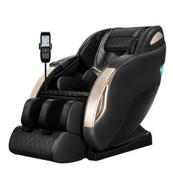Inbox Zero Vetoper Neck Massage Chair & Back Massager in Black, Size 42.9 H x 29.5 W x 61.0 D in   Wayfair 5A59A3E9088A4E9A9141866E989737B0