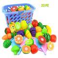 Jouet en plastique pour enfants, jeu de simulation, coupe de fruits et légumes, maison de jeu,