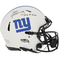 """""""Fanatics Authentic Eli Manning New York Giants Autographed Riddell Lunar Speed Helmet with """"""""ONLY A GIANT"""""""" Inscription"""""""