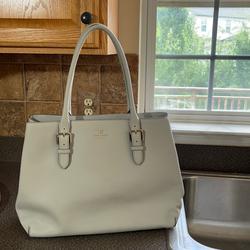 Kate Spade Bags   Kate Spade Handbag   Color: Blue/Gray   Size: 17 Long X 12 Tall X 6 Wide (Handles Extra 9)