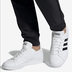 Adidas Shoes   Adidas Grand Court Base Mens Sport Casual Sneaker   Color: Black/White   Size: 8