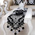 Glands de perles plaqués argent, chemin de luxe Europe, beauté Table lit maison, tapis de décor,
