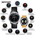 SANDA N58 nouveaux hommes ECG Smart montres numériques femme intelligent médicament rappel fréquence