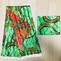 D'organza en soie tissu de cire africaine tissu pour robe en soie africaine ankara Tissu haute