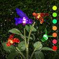 Garden Solar Lights Outdoor Decorative | Sunflower Decor Solar Pathway Lights Outdoor LED | Solar Garden Lights Waterproof Solar Landscape Lights for Lawn Patio Yard Garde (Color : Colorful Lights)