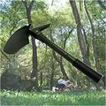 Green Multi-Functional Military Folding Shovel Survival Emergency Garden Camping Foldable Shovel Foldable Shovel for Camping Foldable Shovel for car