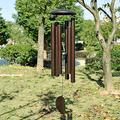 "45"" Large Metal Tube Deep Tone Resonant Bass Sound Bell Wind Chime Garden Decoration Chimes Home Decor Clearance Outdoor décor Home Decor Garden Decor Wind Chimes for Outside"