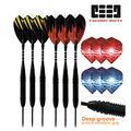 N\C Darts 22g Hard Dart Professional Game Dart Needle Accessories 6 Pieces per Box Dart Set Non-Dart Board (Hard Darts-6 Pieces)
