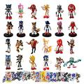 Sonic Figure Anime Action Figure Toy sonic2 Shadow Tails Characters Figure Toys for Children Animals Toys Set Kids Toys
