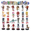 Sonic Figure sonic2 Figures Toy Game Toy Shadow Tails Characters Figure Toys for Children Animals Toys Set