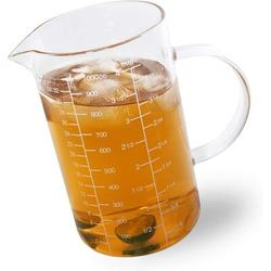 TianRan Glass Measuring Cup w/ Handle, 1000 ML (1 Liter, 4 Cup) Measuring Cup w/ Three Scales (OZ, Cup, ML/CC) & V-Shaped Spout | Wayfair