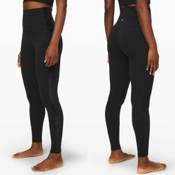 Lululemon Athletica Pants & Jumpsuits | Lululemon Super High Rise Align 28 Black Velvet | Color: Black | Size: 4