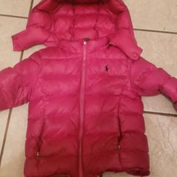 Polo By Ralph Lauren Jackets & Coats   Girl Pink Polo Jacket   Color: Pink   Size: 6xg