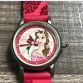 Disney Accessories   Disney, Vintage Belle, Beauty & Beast Watch.   Color: Pink/Red   Size: Osg