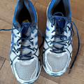 Adidas Shoes | Mens Addidas Running Shoes | Color: Blue/Gray | Size: 10