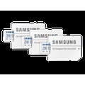 Samsung 23 cu. ft. Smart Counter Depth BESPOKE 4-Door Flex Refrigerator with Customizable Panel Colors in Grey Glass(BNDL-1616700105500)