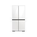 Samsung 29 cu. ft. Smart BESPOKE 4-Door Flex Refrigerator with Customizable Panel Colors in Grey Glass(BNDL-1616699630054)