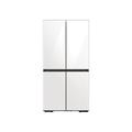 Samsung 23 cu. ft. Smart Counter Depth BESPOKE 4-Door Flex Refrigerator with Customizable Panel Colors in Sky in Blue Glass(BNDL-1616700696369)