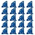 yidexin 20 PCS Flooring Spacers, Laminate Wood Flooring Tools, Hardwood Flooring, Special Triangle Stay in Place (24pack)