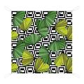 """XYHH Waterproof Picnic Mat Vector. Green Ginkgo Leaf Beach Blanket Picnic Outdoor Mat Waterproof Soft Fast Drying Nylon for Travel Camping Hiking TB White-Vector. Green Ginkgo leaf1 59""""×57"""""""