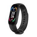 Bracelet connecté M6 pour hommes et femmes, montre intelligente, moniteur de fréquence cardiaque, de