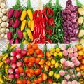Simulation de légumes en mousse, ail artificiel, faux oignon suspendus, légumes, décoration de