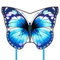 Cerf-volant papillon de couleur menthe pour enfants et adultes, grands jumeaux, faciles à voler,