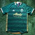 Adidas Shirts | Adidas Portland Timbers Fc Official Jersey Size L | Color: Green | Size: L