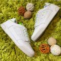 Adidas Shoes   Adidas White Green Slamcourt Original Sneakers   Color: Green/White   Size: 10.5