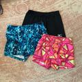 Adidas Shorts | 3 Pairs Spandex | Color: Black/Blue/Pink | Size: S