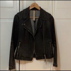 Burberry Jackets & Coats   Burberry Denim Jacket   Color: Gray/Silver   Size: 6