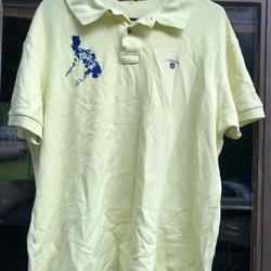 Coach Shirts | Coach Men'S Light Lime Soccer Polo Shirt Size Xl | Color: Green/Yellow | Size: Xl
