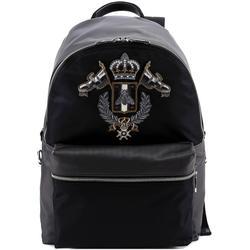 Patch Detail Backpack - Black - Dolce & Gabbana Backpacks