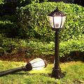 Solar Led Landscape Street, Light Energy, Vienna Garden, Outdoor Lighting, Outdoor Light, Retro High Pole Community Lawn Waterproof Lighting Outdoor Die-Cast Light
