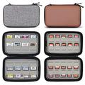 Sisma 64 Games Case for Nintendo 3DS DS Game Cartridges (Grey) + 80 Games Case for Nintendo Switch PS Vita or SD Memory Cards (Brown)