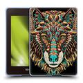 Head Case Designs Officially Licensed Bioworkz Wolf Head 2 Coloured Animal Head 1 Soft Gel Case Compatible with Kindle Paperwhite 4 (2019)