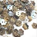 Boutons de couture étoile en nacre, 2 trous de 12mm, 50 pièces, bouton de couture, pour