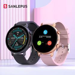 SANLEPUS – montre connectée PPG + ECG pour hommes et femmes, étanche, avec Bluetooth, moniteur de