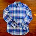 J. Crew Shirts   Mens J.Crew Lightweight Button Down Shirt   Color: Blue/Pink   Size: S
