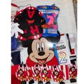 Disney Party Supplies | Mickey Mouse Birthday Party Supplies Set | Color: Black/Red | Size: Os