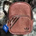 Adidas Bags   Adidas Originals Mini Backpack In Pink Glitter   Color: Pink   Size: H: 8.5 W: 6.5 D: 4.5